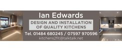 Club Supporter - Ian Edwards - Design & Installation of Kitchens