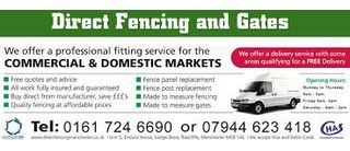 Direct Fencing & Gates