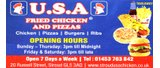 Programme Sponsor - U.S.A Fried Chicken and Pizzas