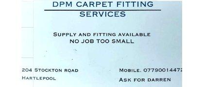 DPM Carpet fitting services