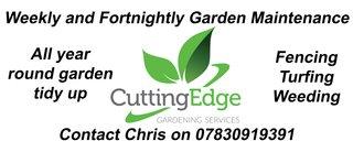 Cutting edge gardening services