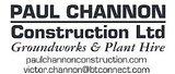 Sponsor - Paul Channon Construction Limited