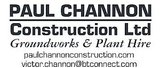 Sponsor - Paul Channon Construction Limited