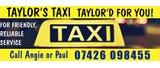 Sponsor - Taylor's Taxi