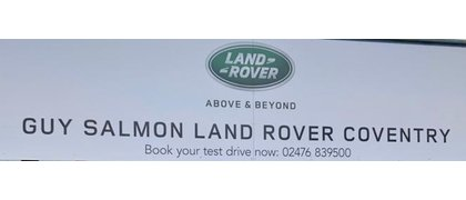 Guy Salmon Land Rover Coventry