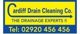 Shirt Sponsor - Cardiff Drain Cleaning Logo