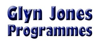 Glyn Jones' Programmes