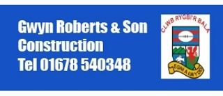 Gwyn Roberts Construction a'i fab
