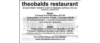 Theobalds Restaurant