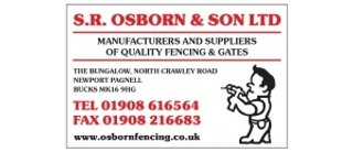 S R Osborn and Son Ltd Fencing
