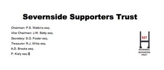 Severnsiders Supporters Trust