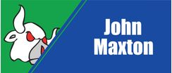 Player Sponsor - John Maxton