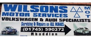 Wilsons Motor Services
