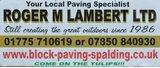 Valued Sponsor - Roger M Lambert