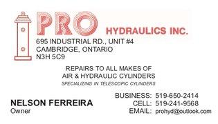 Pro Hydraulics Inc.