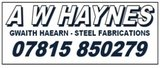 General Sponsor - A W Haynes Steel Fabrications