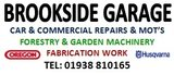 General Sponsor - Brookside Garage