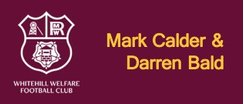 Player Sponsor - Mark Calder & Darren Bald