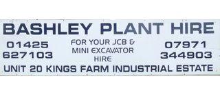 Bashley Plant Hire