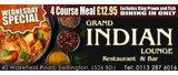 Ground Sponsor - Grand Indian