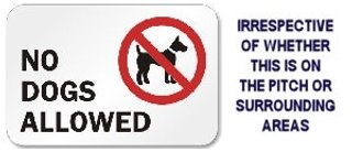 Sorry - No Dogs Allowed