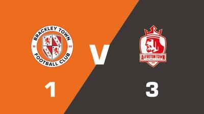 Highlights: Brackley Town vs Alfreton Town