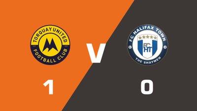 Highlights: Torquay United vs FC Halifax Town