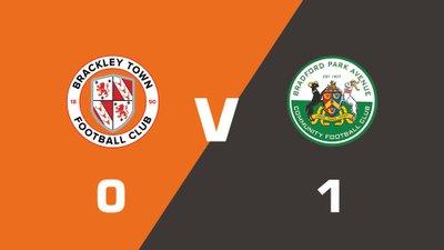 Highlights: Brackley Town vs Bradford Park Avenue