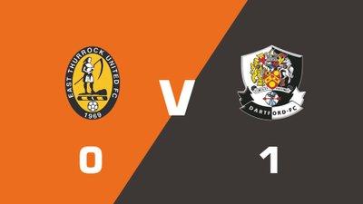 Highlights: East Thurrock United vs Dartford