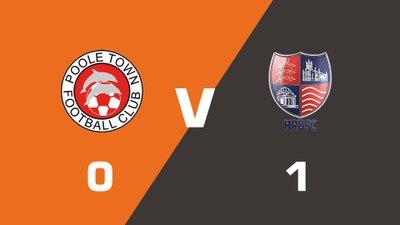 Highlights: Poole Town vs Hampton & Richmond Borough