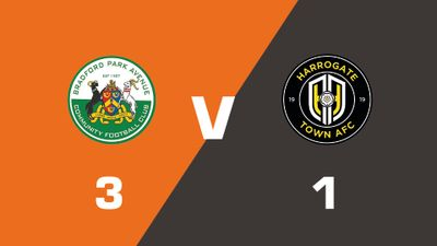 Highlights: Bradford Park Avenue vs Harrogate Town