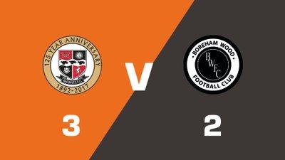 Highlights: Bromley vs Boreham Wood