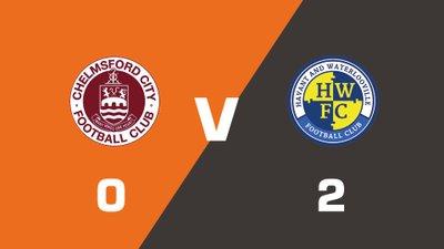 Highlights: Chelmsford City vs Havant & Waterlooville