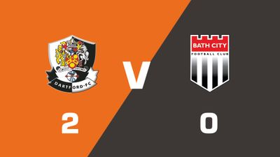 Highlights: Dartford vs Bath City
