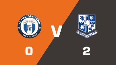 Highlights: FC Halifax Town vs Tranmere Rovers