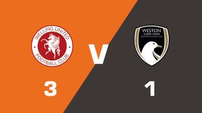Highlights: Welling United vs Weston-Super-Mare