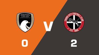 Highlights: Weston-Super-Mare vs Truro City