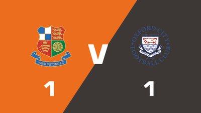Highlights: Wealdstone vs Oxford City