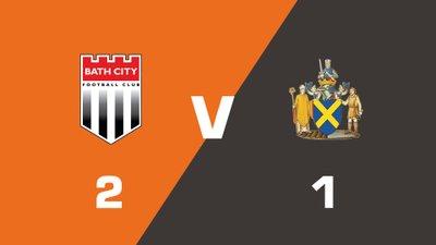 Highlights: Bath City vs St. Albans City