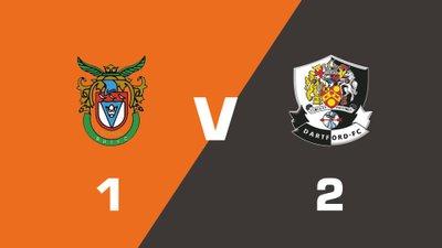 Highlights: Bognor Regis Town vs Dartford