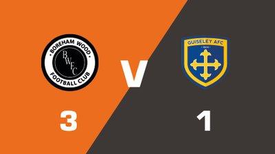 Highlights: Boreham Wood vs Guiseley