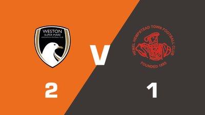 Highlights: Weston-Super-Mare vs Hemel Hempstead Town