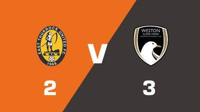 Highlights: East Thurrock United vs Weston-super-Mare AFC