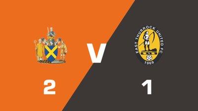 Highlights: St Albans City vs East Thurrock United