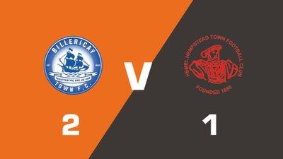 Highlights: Billericay Town vs Hemel Hempstead Town