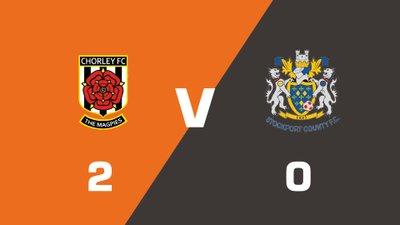 Highlights: Chorley vs Stockport County