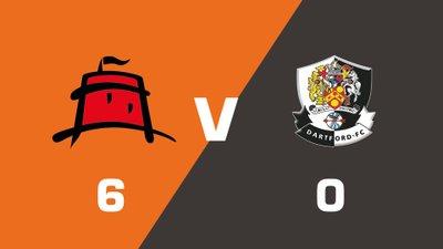 Highlights: Eastbourne Borough vs Dartford