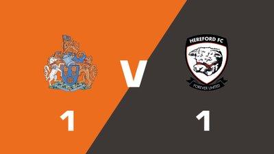 Highlights: Altrincham vs Hereford