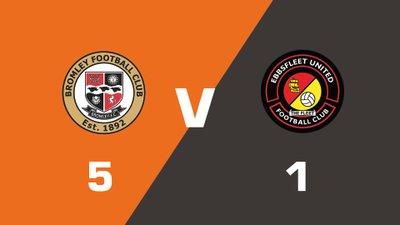 Highlights: Bromley vs Ebbsfleet United