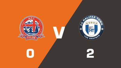 Highlights: AFC Fylde vs FC Halifax Town